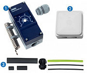 connection kit for MICROFLEX COOL with heating tape